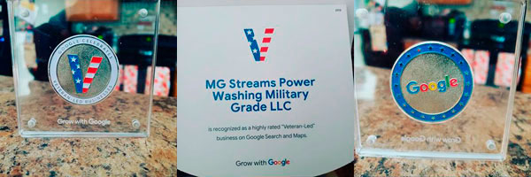 MG Stream Power Washing about
