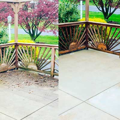 Patios Cleaning