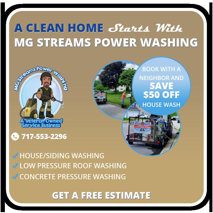 special MG Streams Power Washing